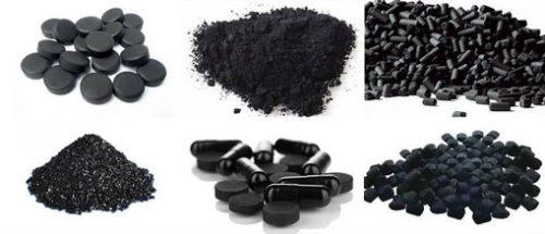 формы выпуска активированного угля